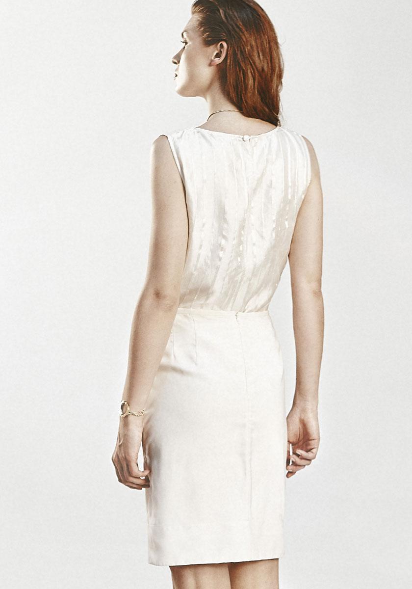 Faustine robe de mariee courte createur et sur mesure for Robe de mariée créateur pas cher
