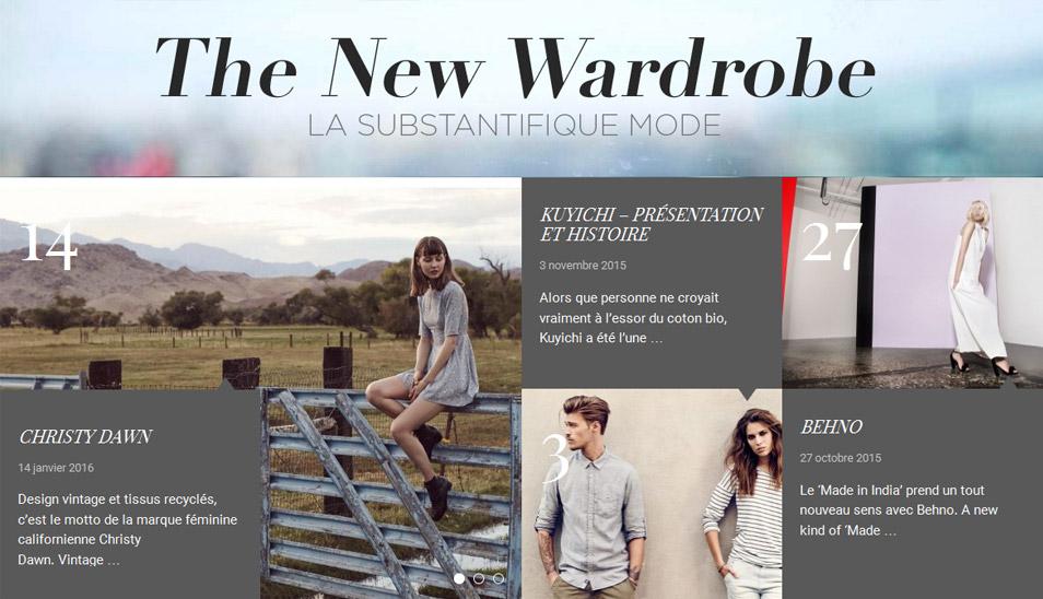 Retrouvez la mode éthique Myphilosophy sur The New Wardrobe !
