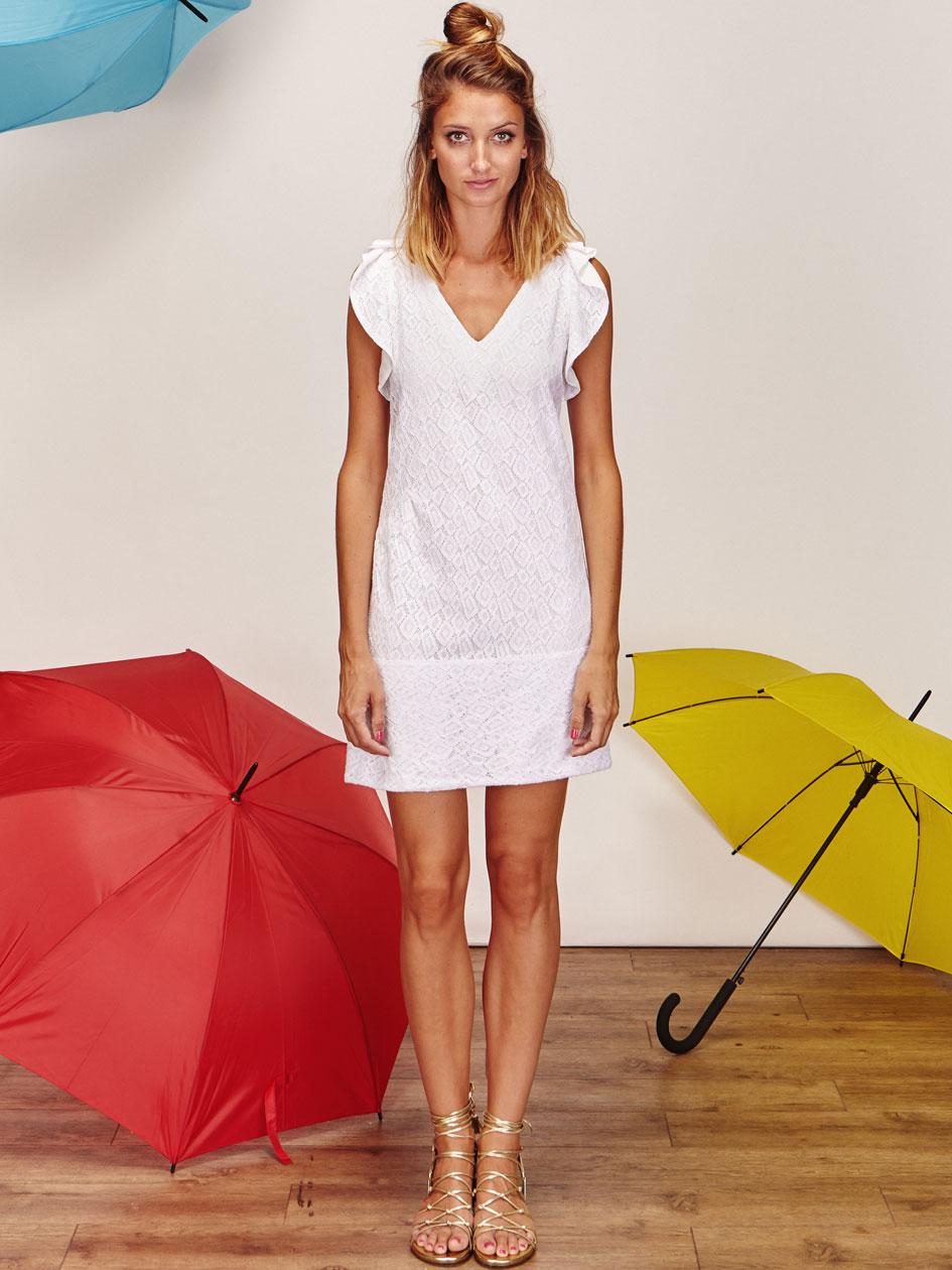 Juliette robe de mariee courte createur et sur mesure for Robe de mariée créateur pas cher