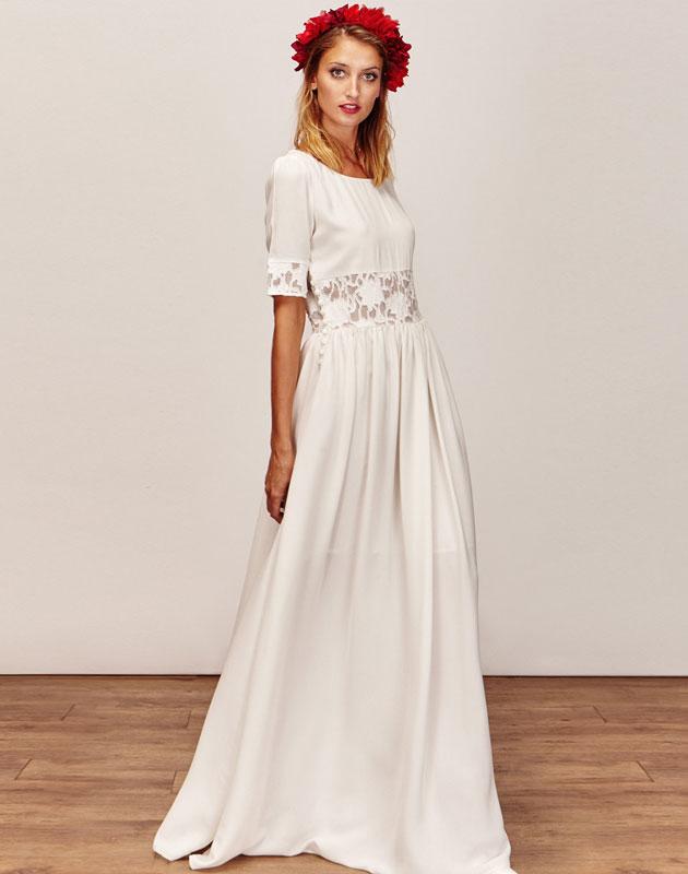 Robe de Mariée courte Robe de Mariée longue