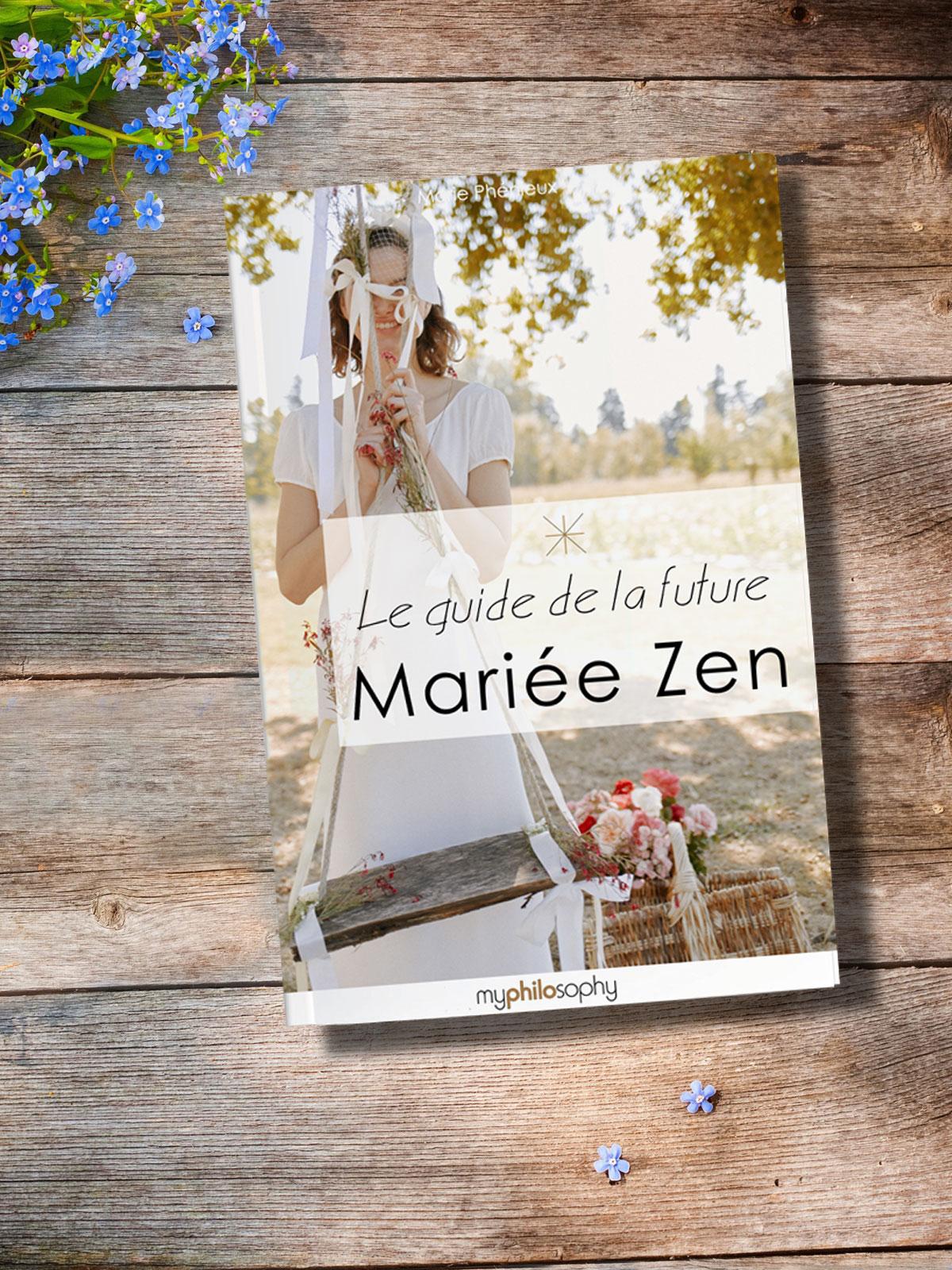 Téléchargez le Guide de la mariée Zen !