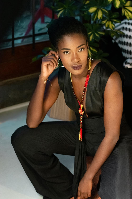Combinaison noire chic - tenue de soiree bio et éthique - Mode femme Myphilosophy