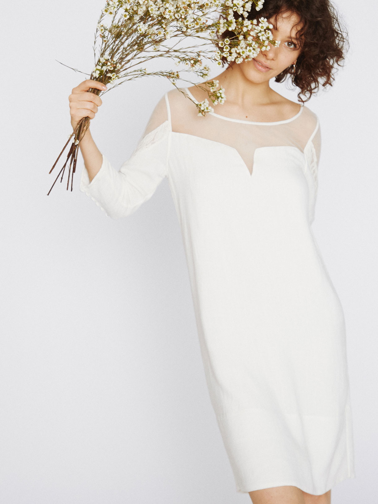 Robe pour mariage civil courte pas cher écoresponsable - Creatrice de robe de mariée éthique et bio a Paris - Myphilosophy