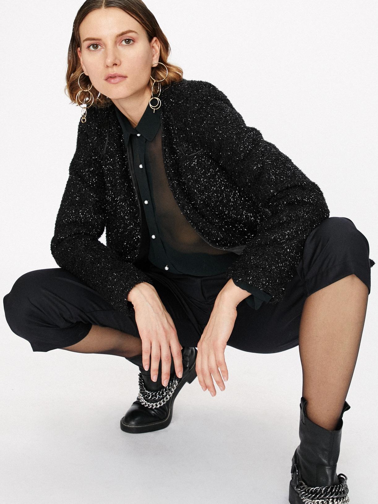 Veste en fausse fourrure écoresponsable - Creatrice de mode éthique et bio a Paris - Myphilosophy