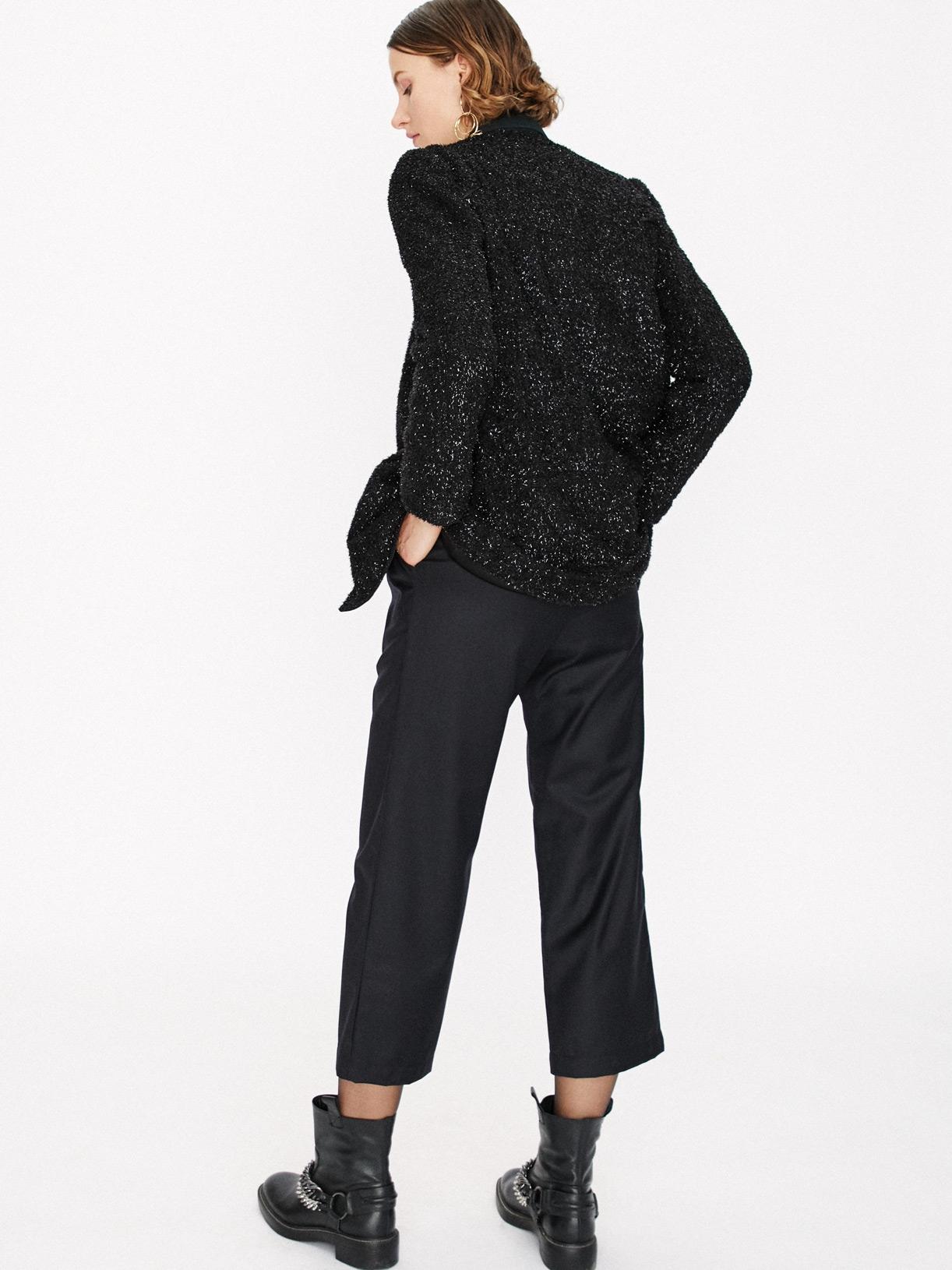 Pantalon chino en laine écoresponsable - Creatrice de mode éthique et bio a Paris - Myphilosophy
