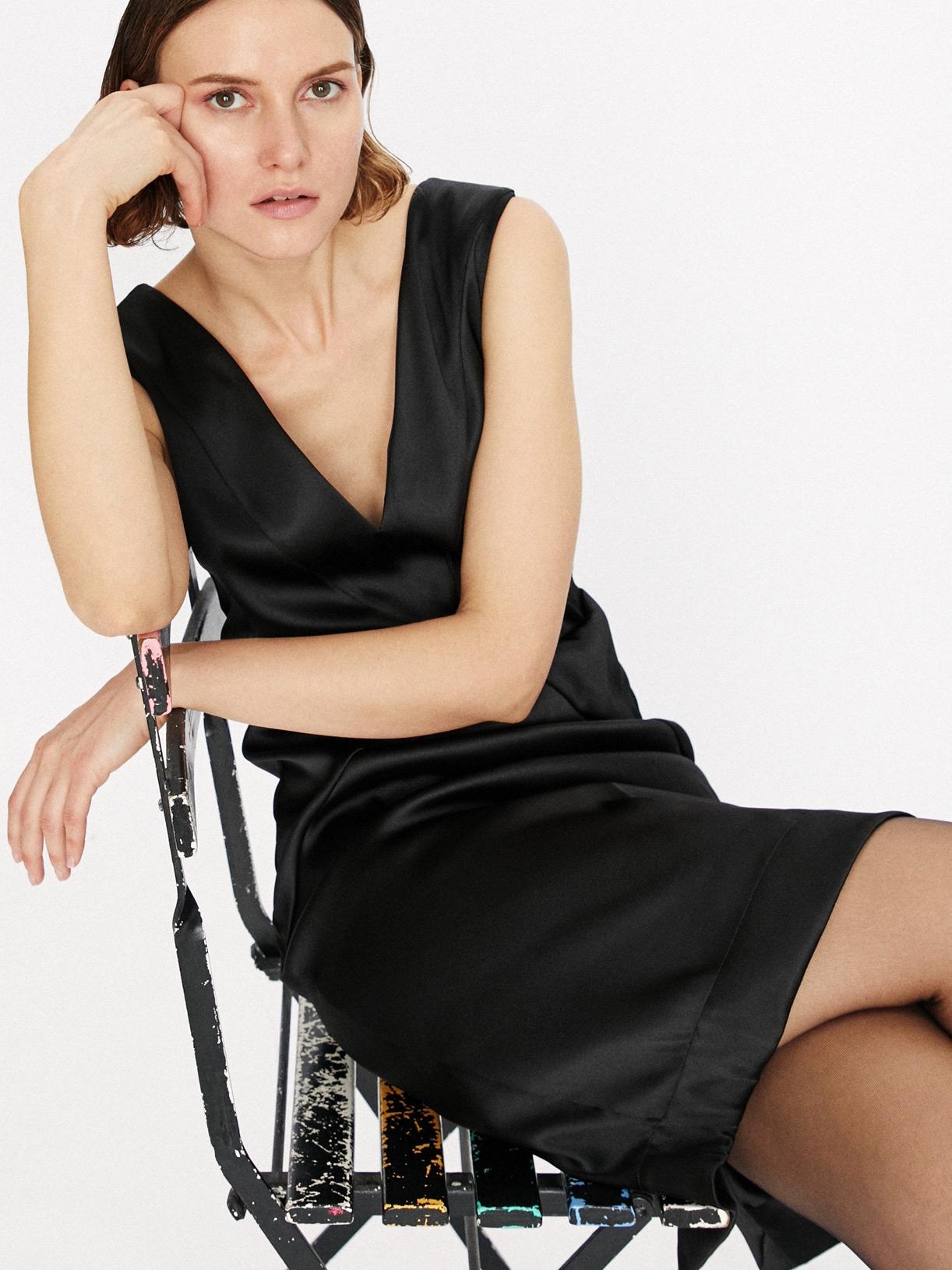 Inès - Robe fourreau courte