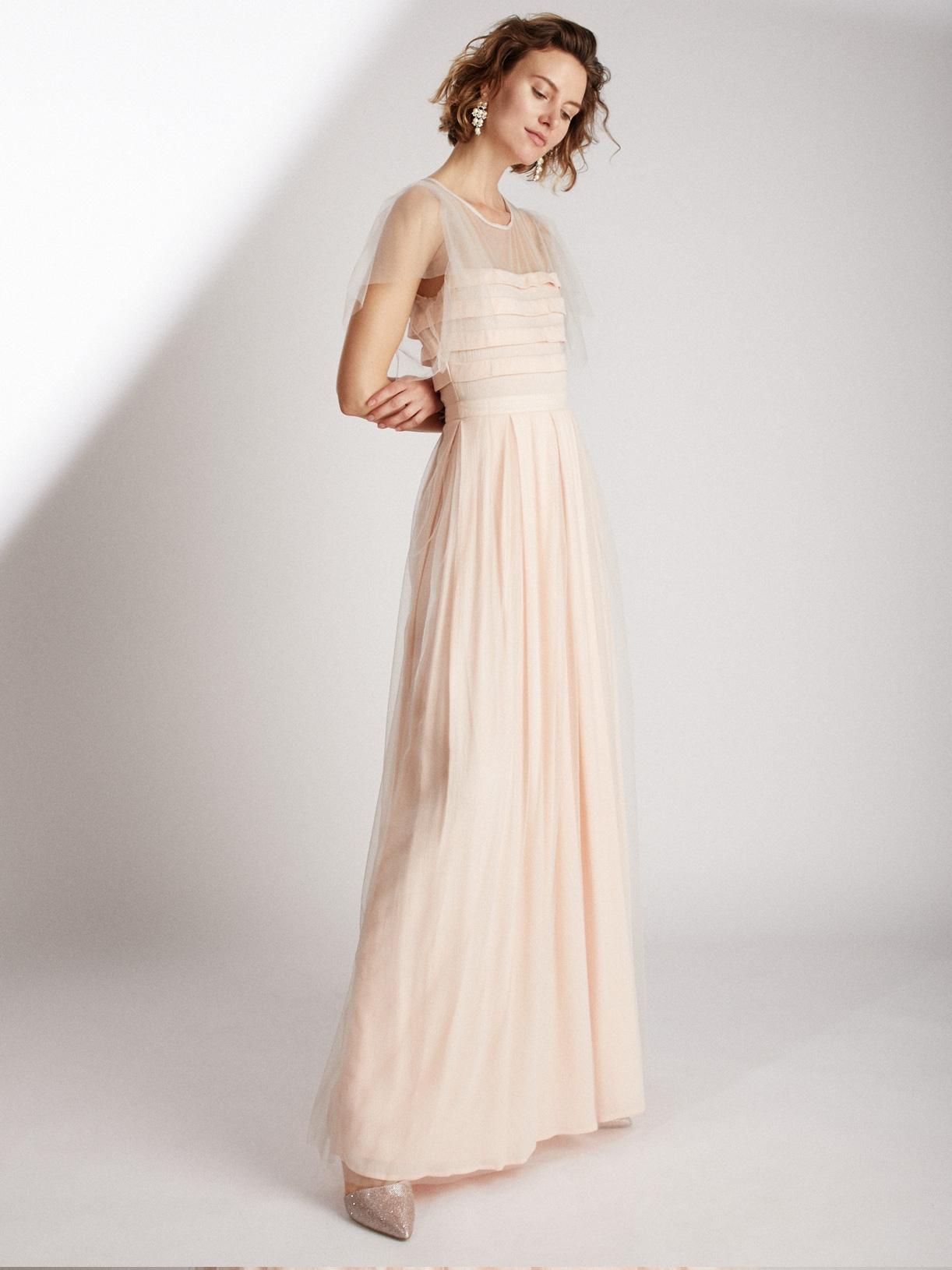 Robe de mariée colorée longue et écoresponsable - Creatrice de robe de mariée éthique et bio a Paris - Myphilosophy