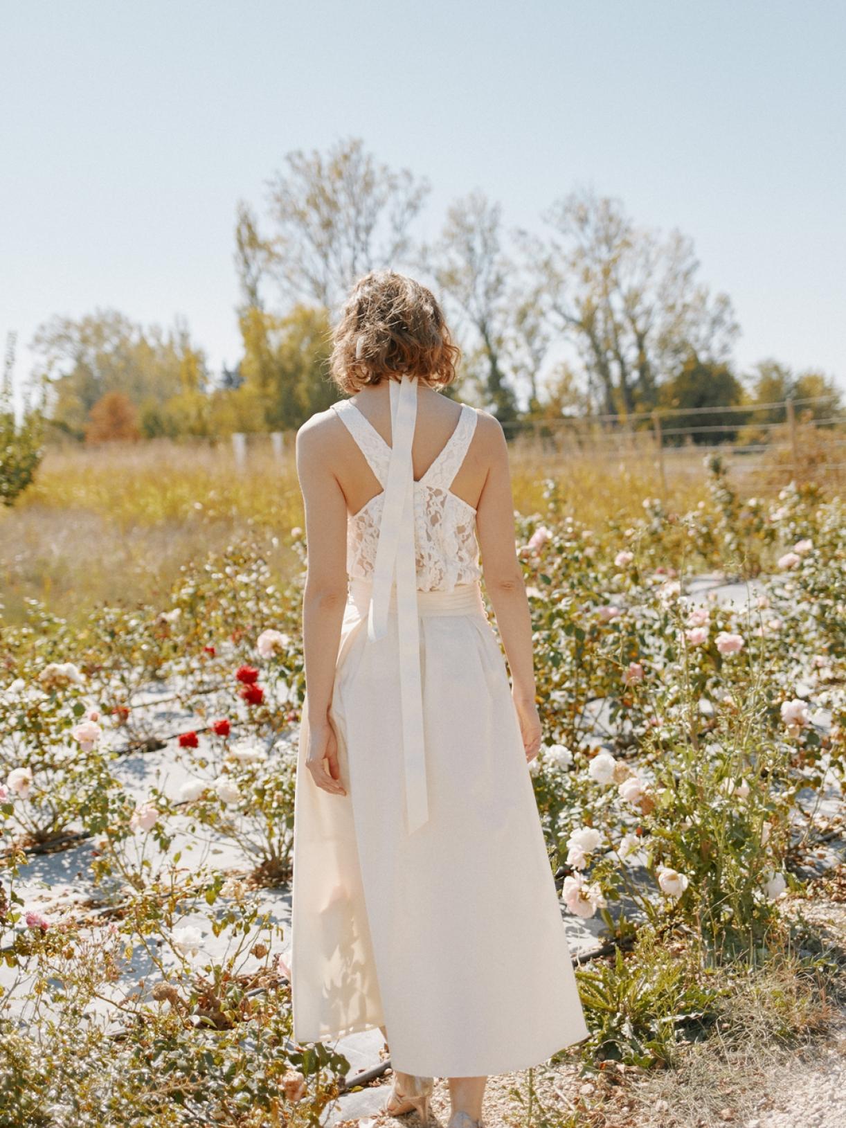 Robe de mariée romantique et bio à Paris - Myphilosophy