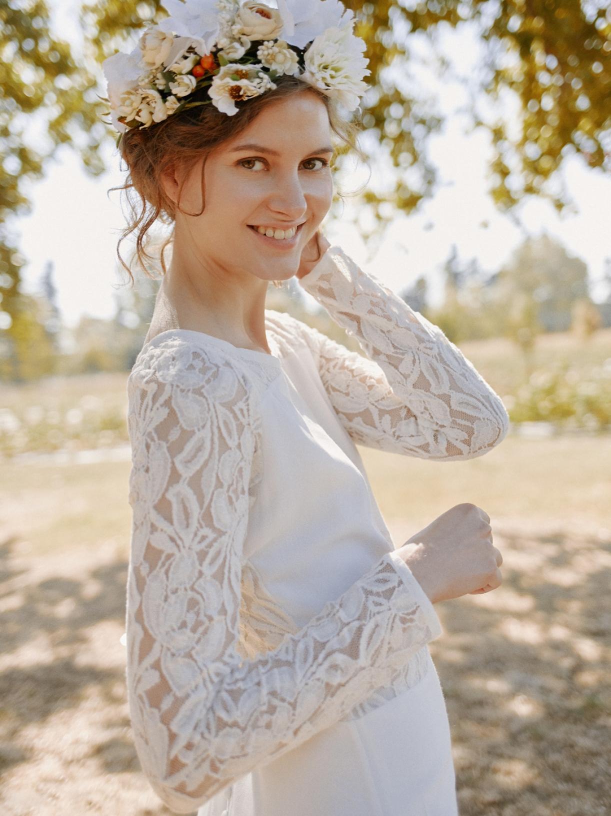 Iris - Robe de mariée