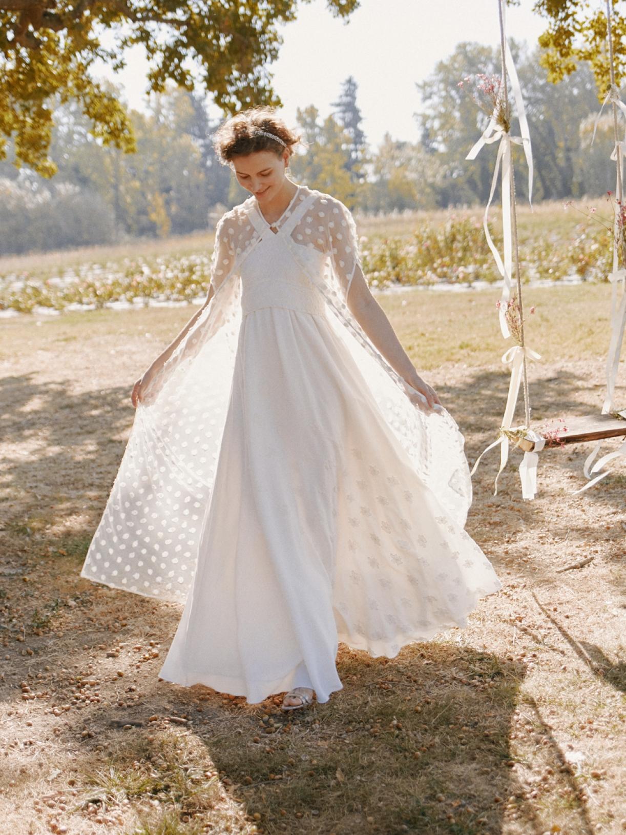 Robe de mariée créateur longue écoresponsable à Paris - Myphilosophy