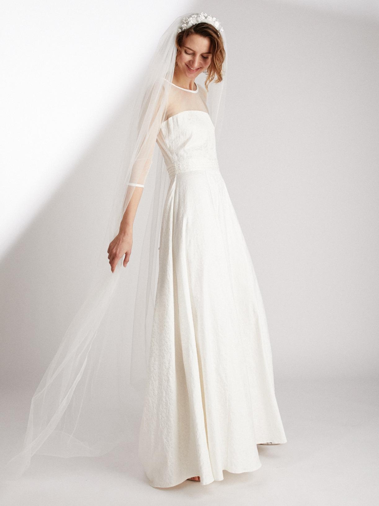 Voile de mariée écoresponsable - Creatrice de robe de mariée éthique et bio a Paris - Myphilosophy