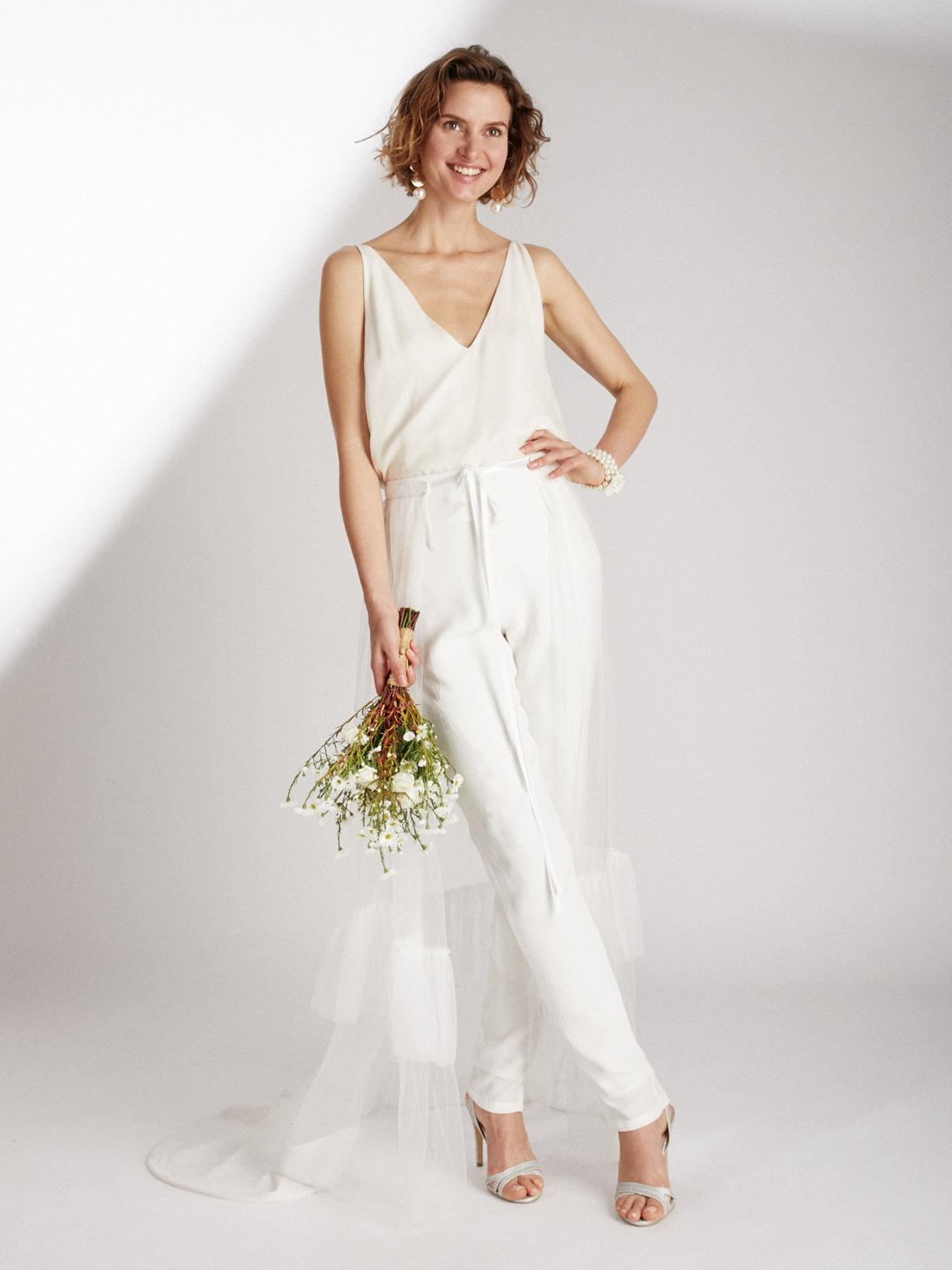 Traine pour robe de mariee écoresponsable - Creatrice de robe de mariée éthique et bio a Paris - Myphilosophy