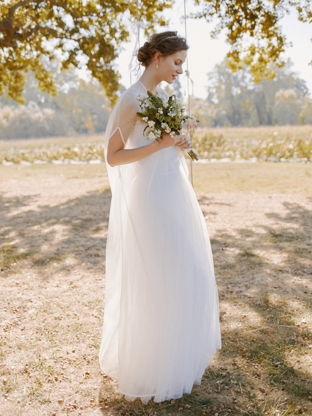 Cape voile de mariée créateur ecoresponsable - Myphilosophy PARIS