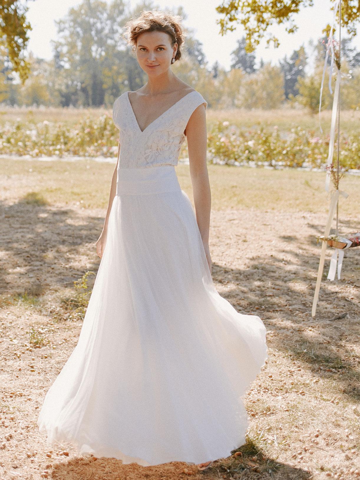 Robe de mariée princesse écoresponsable et sur-mesure - Myphilosophy