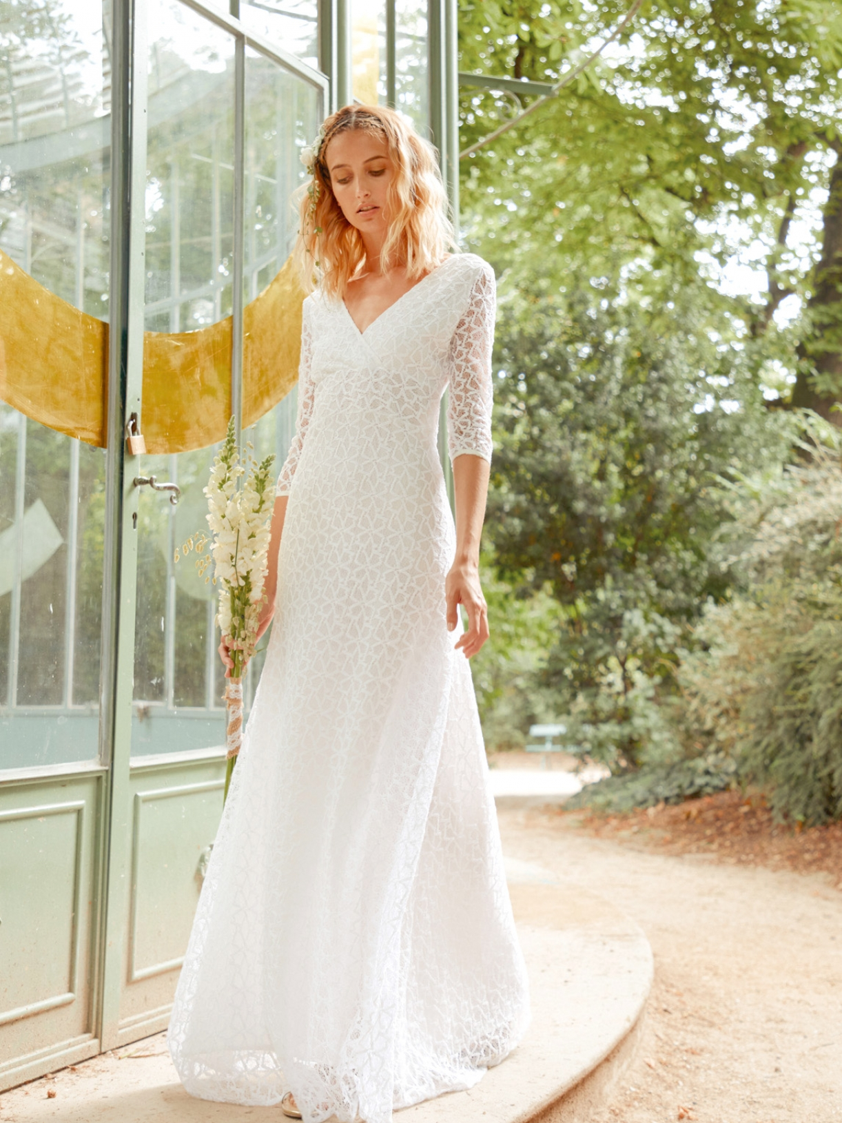 VALENTINA - Robe de mariée sirène longue en dentelle - Robe de mariée créateur et sur-mesure pas cher a Paris - Myphilosophy