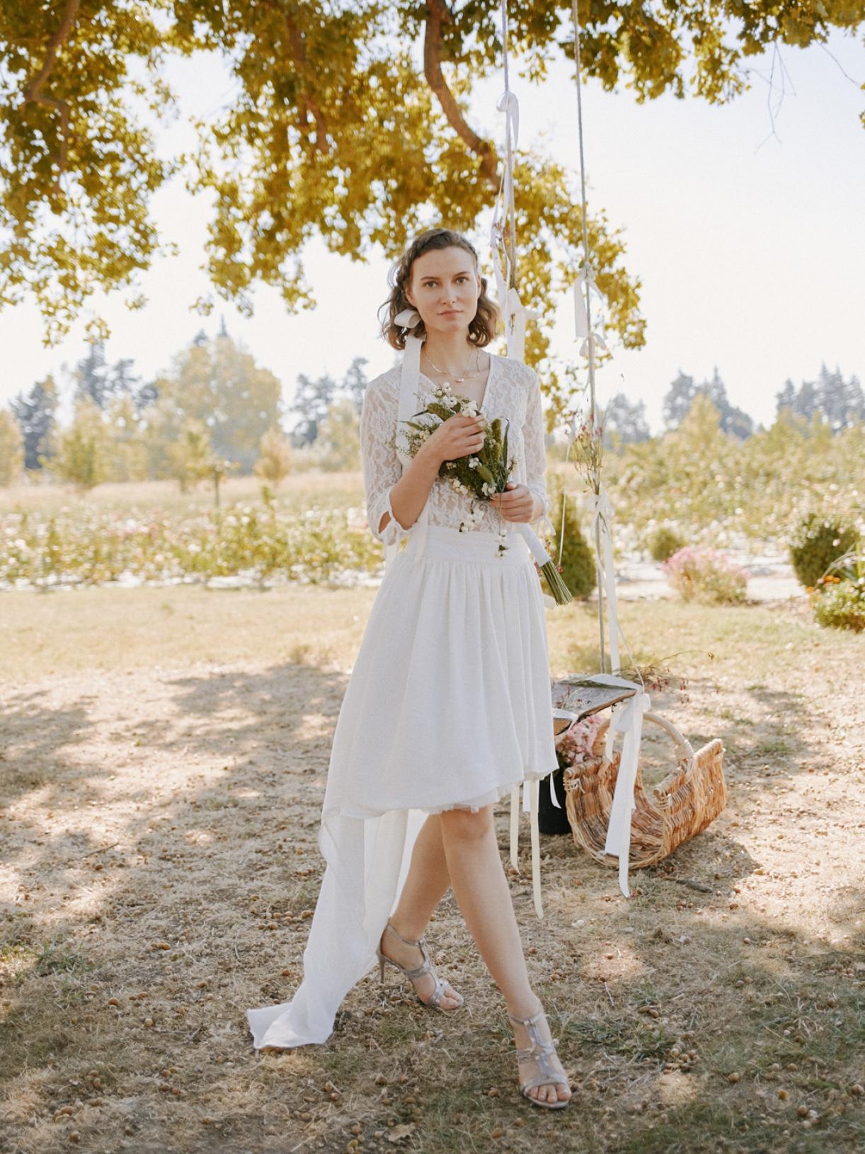 NELLY - Jupe de mariée