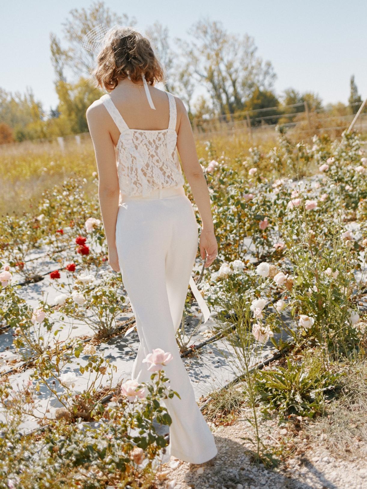 LYNE - Tailleur Pantalon de mariée créateur et sur-mesure pas cher a Paris - Myphilosophy